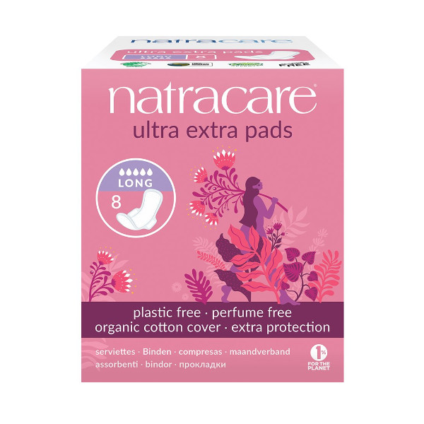 Natracare Ultra Extra Long Period Pads