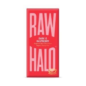 Vegan Dark & Raspberry Raw Chocolate - 70g