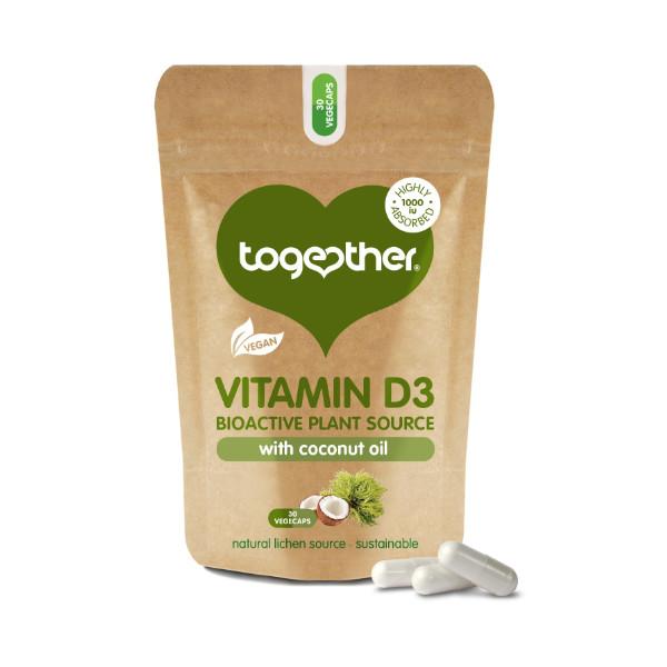 Vegan Vitamin D3 - 30 Capsules - Together