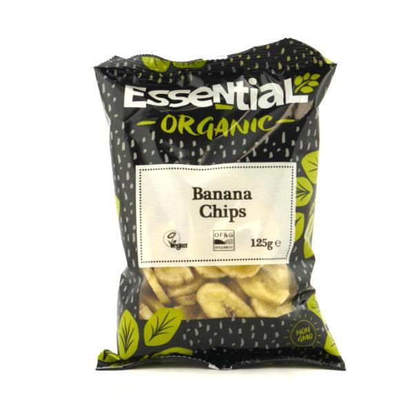 Organic Banana Chips - 125g