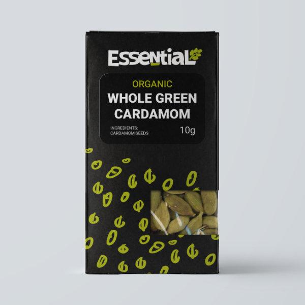 Organic Green Cardamom Pods - 10g